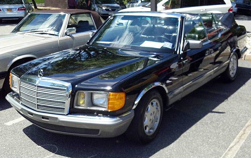 1984 Mercedes 500SEL Convertible Caruna Conversion Found ...