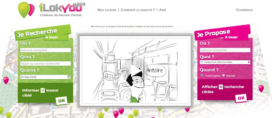 I Lok You - le service de consommation collaborative