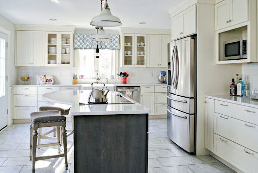 A Bright New Kitchen Remodel in Whitinsville, MA