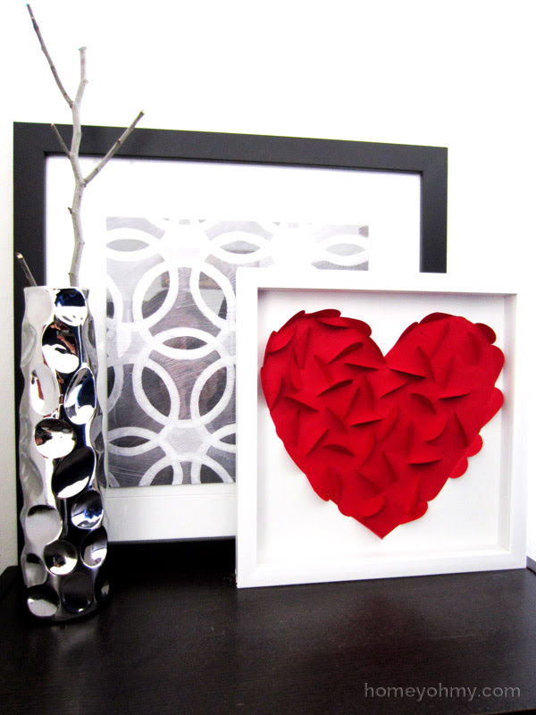 DIY Heart Wall Art