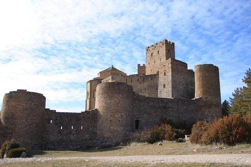 Vista del castillo de Loarre