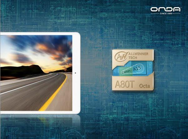 Onda V989, tablet con CPU de ocho núcleos a buen precio