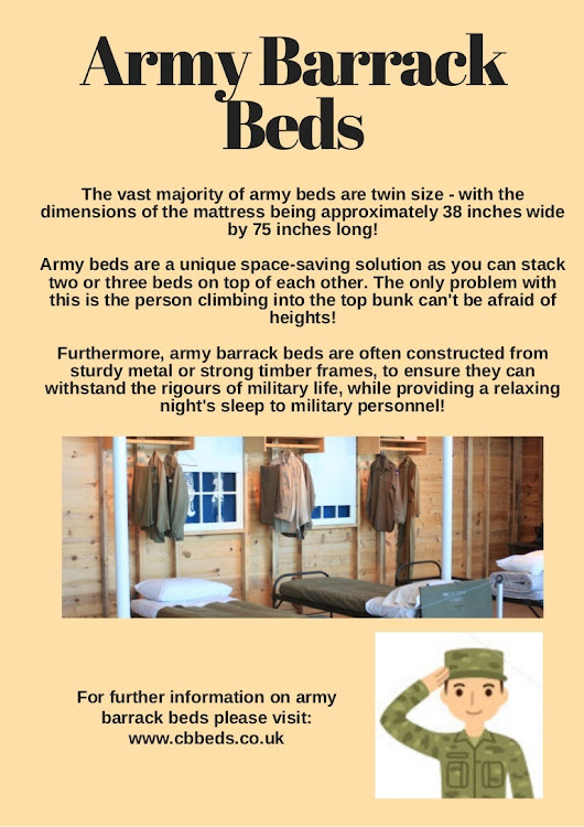 Army Barrack Beds
