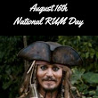 August 16, 2018 - National Rum Day - Saving Toward A Better Life