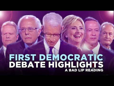 Bad Lip Reading of the First Democratic Debate