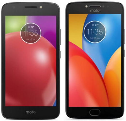 Images of the Moto E4 and Moto E4 Plus surface