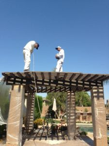 Unlike a Lot of Handymen, Professional Painters Will Paint Anywhere   866-802-0640