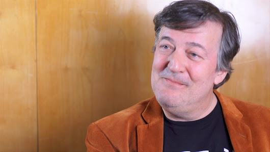 Stephen Fry: the letter that saved my life - video