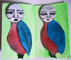 The Sketchbook Project 2011- birds