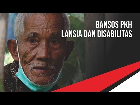 Bansos PKH Lansia dan Disabilitas Diantar ke Rumah