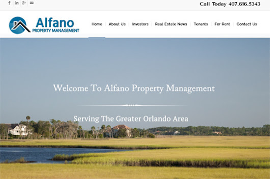 Alfano Property Management - Internet Solutions For Less