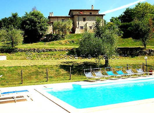 Holiday villa rental in Italy, Umbria