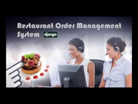 Django Restaurant Order Management System (Django-ROMS)