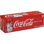 Coca-Cola Soda - 12 pack, 12 fl oz cans