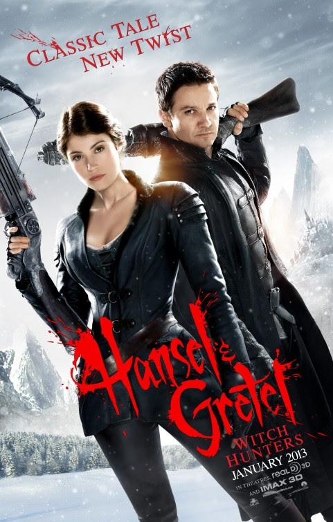 Afbeeldingsresultaat voor hansel & gretel witch hunters poster