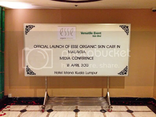 Official Launch of Esse Organic Skincare in Malaysia! ❤