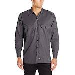 Dickies Men's Long Sleeve Flex Twill Work Shirt