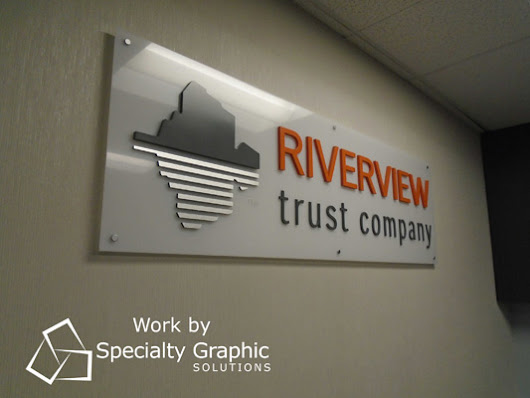 Riverview Trust Benefits from Signs and Graphics for Banks in the Portland Metro Area