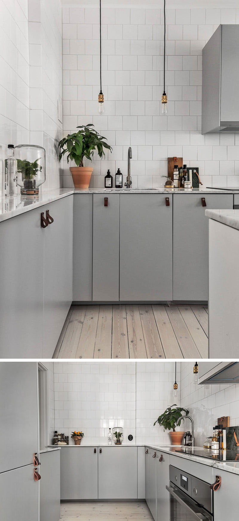 12 Examples Of Sophisticated Gray Kitchen Cabinets ...