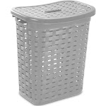 Sterilite - 12766A04 Weave Laundry Hamper, Cement