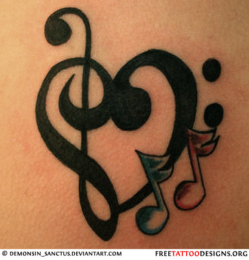 Music Notation Symbol Tattoo