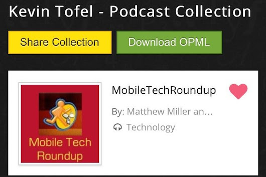 Podcast Gallery smartly brings podcasts to mobiles, Dropbox and Google Drive