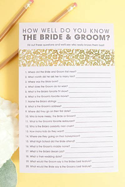 10 FREE Printable Bridal Shower Games   wedding shower