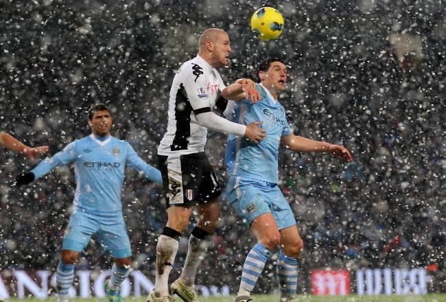 Fulham vs Manchester City 1-2 Highlights 2012 Penalty Petric Aguero Dzeko Goals Video