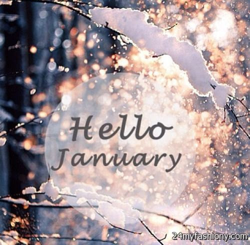 Hello January Calendar images 20172018  B2B Fashion
