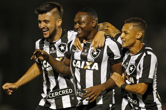 Sassá Gol Botafogo x Ponte Preta (Foto: Vitor Silva / SSpress / Botafogo)