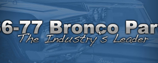 Early Ford Bronco Parts 1966-77 - Toms Bronco Parts