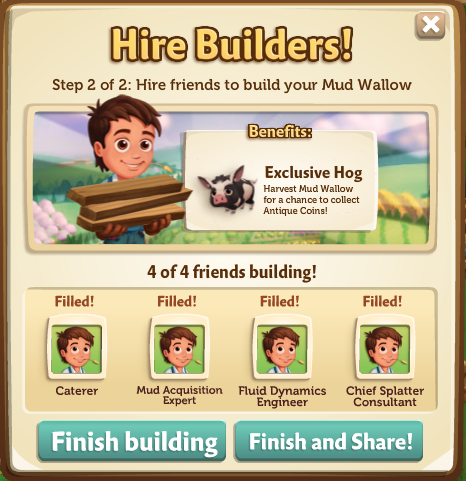 Mud Wallow - FarmVille 2