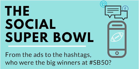 Social Media Super Bowl Winners by Overdrive Interactive