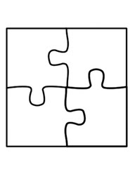 Blank Jigsaw Puzzle Photo Detailed About Piece