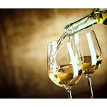 Dainty Home White Wine Foam Placemat, 13 inchx19 inch, Set of 4,