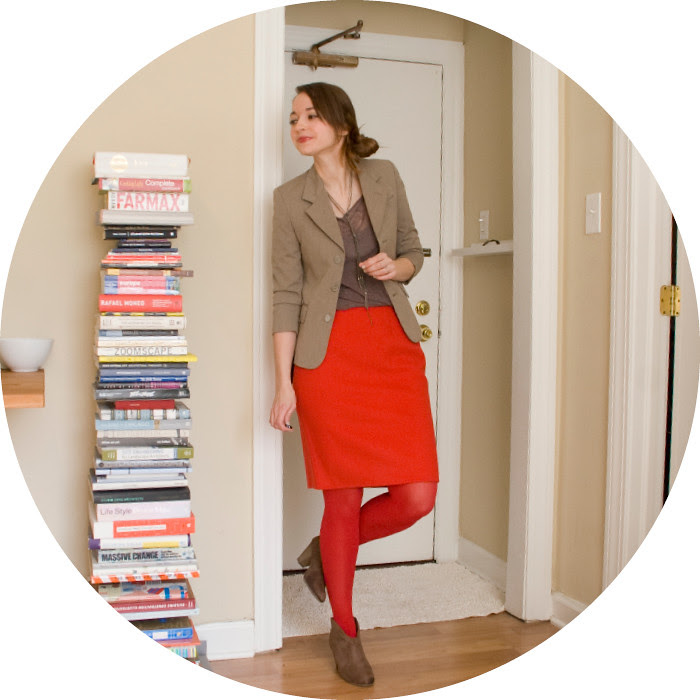 dash dot dotty, red tights with a red skirt, red outfits, ootd, outfit blog, wear to work