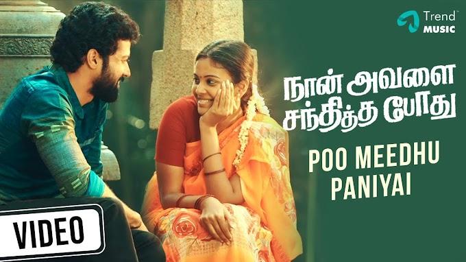 Naan Avalai Santhiththa Pothu | Poo Meedhu Video Song
