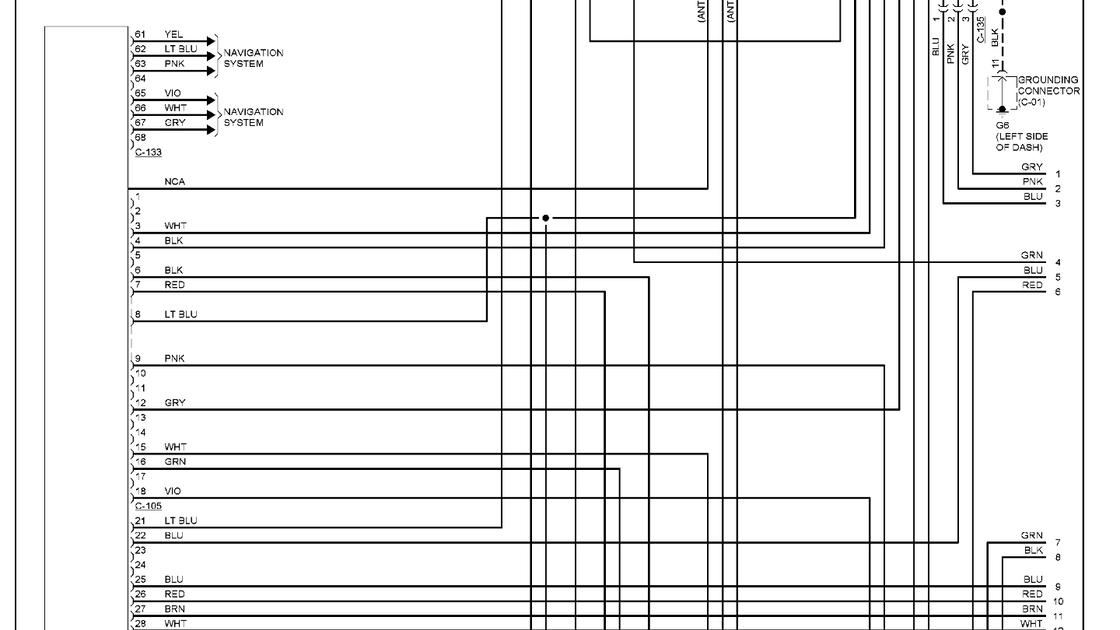 2016 Mitsubishi Outlander Wiring Diagram