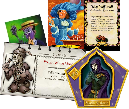 Famous Wizard Cards – The Harry Potter Lexicon - The Harry Potter Lexicon