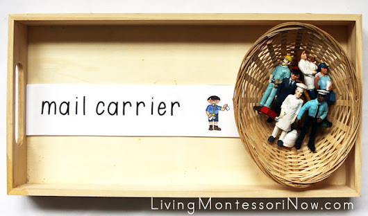 Montessori-Inspired Activities with Community Helper Figures and Free Printables