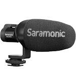 Saramonic Vmic Mini Compact Camera-Mount Shotgun Microphone for DSLR