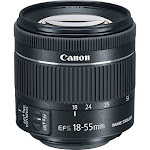 """Canon EF-S 18-55mm f/4-5.6 IS STM Lens"""