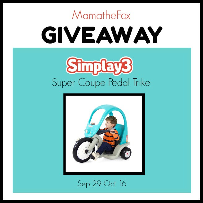 It's a Simplay3 TRIKE Giveaway