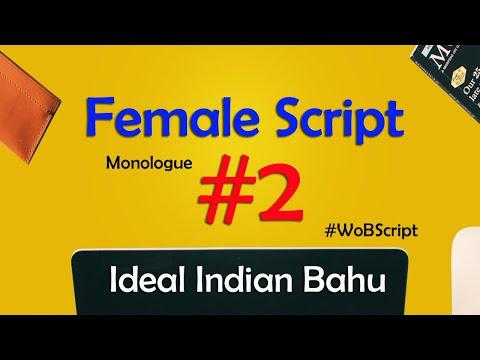 Ideal Indian Bahu Monologue Script 2