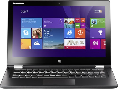 "Lenovo - Yoga 2 2-in-1 13.3"" Touch-Screen Laptop"