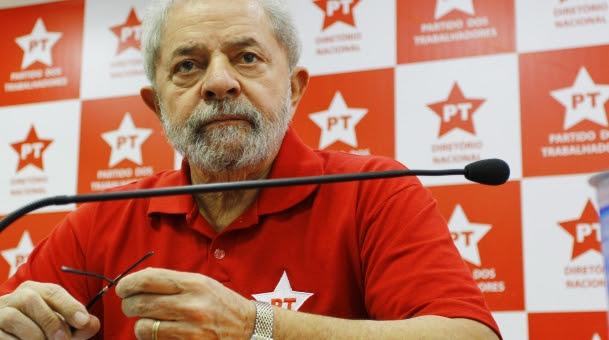 Lula em reunião do PT (Crédito: Foto: Aloisio Mauricio / Fotoarena)