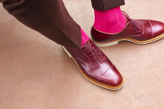 J.M. Weston Oxford Shoe Collection - Ape to Gentleman