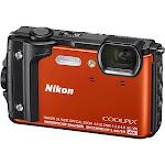 Nikon Coolpix W300 16.0 MP Compact Ultra HD Digital Camera - 4K - Orange