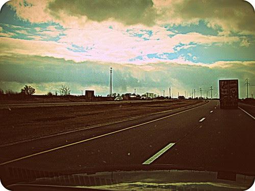 Illinois highway 39 by Stephanie Distler