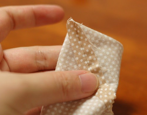 How to make a petit pouch 26